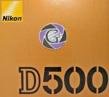 Nikon D500 digitale SLR - Gehäuse - 12 Monate Gewährleistung