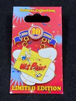 Disney Pin - 10th Anniversary Tribute Collection Wet Paint Donald Duck LE 73438