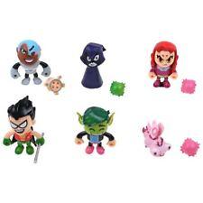 New 2'' UK TEEN TITANS GO ! Deluxe Mini Figures Pack (6 figurines) - New in box