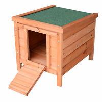 Wooden Rabbit Hutch Small Animal House Pet Bunny Cage w/ Run & Tray