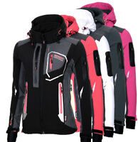 Geographical Norway Damen SoftshellJacke Funktions jacke Outdoor Übergangsjacke