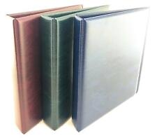 More details for coingallery padded banknote ring binder album with 1 pack lighthouse numis pages