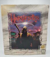 1996 Harvester PC Game *IN ORIGINAL BOX*  3 CD Set.  Pristine Manual and Discs.