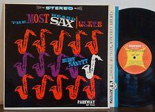 BUDDY SAVITT Most Heard Sax in the World RARE EXC 1962 PARKWAY LP Jazz RnR R&B