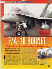 F/A-18 HORNET - GRANDI AEREI DA COMBATTIMENTO