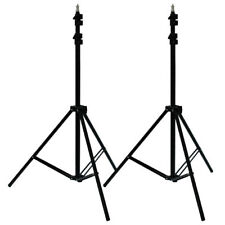 2x 7FT/213CM Tripod Light Stands For Studio Kits,Lights,Softboxes