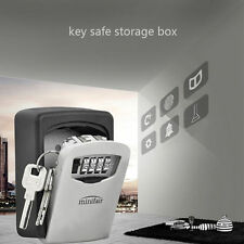Outdoor Wall Mounted Key Safe Box Secure Lock High Security Combination Outside