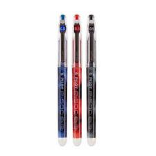 Pilot P-500 BL-P50 Black,Blue,Red 0.5mm Extra Fine Pigment Gel Pens (3pcs)