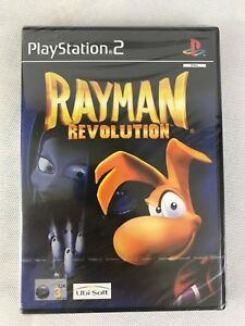 PS2 Rayman Revolution (2002), Brand New & Factory Sealed, Dented
