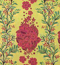 By 1/2 Yrd Folk Song Small Gathering Citrus Anna Maria Horner Free Spirit Fabric