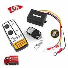 Wireless Winch Remote Control Kit 12V 50FT For Car Truck Jeep ATV Warn Ramsey