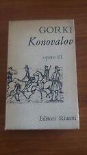 gorki - konolavov e opere varie - volume terzo - editori riuniti