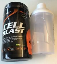 (6,52€/100g)Cell Blast 800g Dose SRS MUSCLE Glutamin Matrix +Bonus Shaker