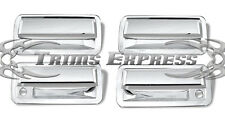 1998-2006 Chevy S-10 Blazer 4Dr Chrome Door Handle Covers w/PSKH