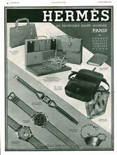 Publicité ancienne bijoux Hermès 1939 issue de magazine