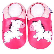 Littleoneshoes Soft Sole Leather Baby Shoes Toddler Infnat Child Kid Zebra 0-6M