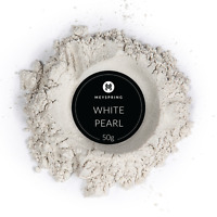 MEYSPRING White Pearl Mica Powder for Epoxy - Two Tone Resin Color Pigment