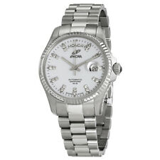 Enicar White Dial Automatic Mens Stainless Steel Watch 3169/50/330AS