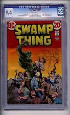 CGC (D.C) SWAMP THING # 5 NM  9.4 1973 B WRIGHTSON