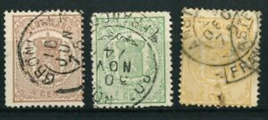 NETHERLANDS OLD STAMPS 1869 - 1871 - National Arms - USED