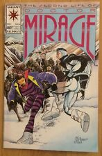 Second Life Of Doctor Mirage Comic Book #2 (Video Game & Aerosmith Ads Inside)