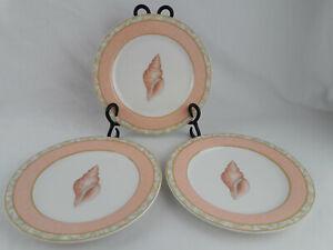 "VICTORIA & BEALE ATLANTIS PATTERN #9044 7 1/2"" Salad Plates Set of Three"