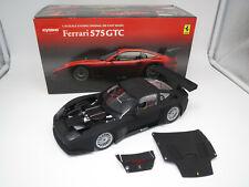 "Kyosho 08391B  Ferrari  575  GTC  "" 2004""  (mattschwarz)  1:18  OVP !"