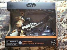 Hasbro F1189 Star Wars The Mandalorian Black Series Speeder Bike Scout Trooper ?