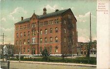 A View of the Alexian Brothers Hospital, Elizabethport, Elizabeth NJ 1907