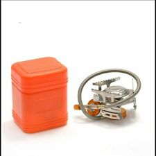 Camping Cooking Portable Equipment Gas Stove Mini Outdoor Collapsible Splits New