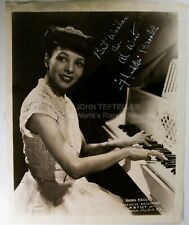 ORIGINAL 1950's 8X10 Modern Records Publicity Photo Signed by Hadda Brooks