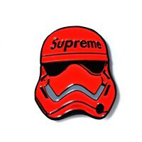 Stylish Red Stormtrooper Star Wars Collectible Pendant Lapel Hat Pin