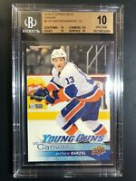 2016-17 Upper Deck Mathew Barzal Young Guns Canvas Rookie BGS 10