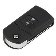 Folding Flip 2 Button Remote Key Fob Case Replace Shell fit for MAZDA 3 5 6 AI