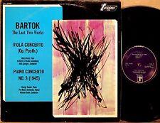 TURNABOUT Bartok ULRICH KOCH Violin Concerto SANDOR Piano Concerto TV-S 34483