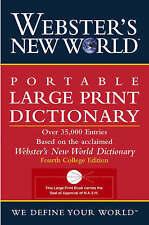 Large Print Paperback Dictionaries