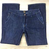 Ernest Sewn Men's Jeans Boot Cut Size 36 Actual W34 L31.5 (D12)