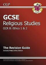 GCSE Religious Studies OCR B Ethics Revision Guide, CGP Books Paperback Book The