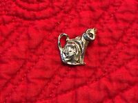 925 Sterling Silver Cat Charm for Bracelet or for Necklace