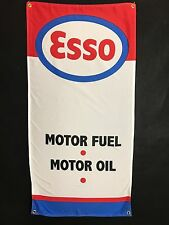 Esso Gas Banner hot rod street rod ford chevy dodge mercury oil service station