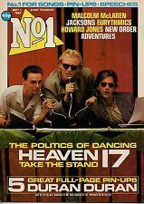 Heaven 17 on Magazine Cover 1 September 1984   Duran Duran  The Adventures  Sade