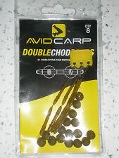 Avid Double Chod Beads 8pk Carp fishing tackle