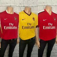 Arsenal Football Shirt, All Seasons, All Sizes, Home, Away, Great, Mint,