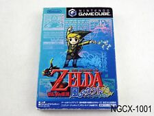 Zelda Wind Waker Japanese Import Kaze no Takuto Takt of Wind Gamecube GC NGC B