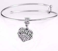 Middle sister bangle Middle sister bracelet Middle sis gift best sister jewelry