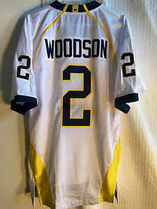 Adidas Authentic NCAA Jersey Michigan Wolverines Woodson White sz 46