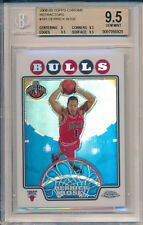 Derrick Rose Cavs 2008 Topps Chrome #181 REFRACTOR Rookie Card rC BGS 9.5 Gem