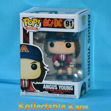 AC/DC - Angus Young with RED Jacket Pop! Vinyl Figure (RS) #91