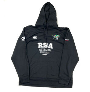 Canterbury South Africa RSA Hockey Embroidered Pullover Hoodie Sweatshirt 2XL