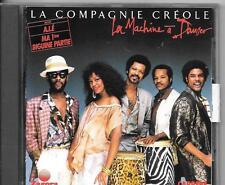 CD ALBUM 10 TITRES--LA COMPAGNIE CREOLE--LA MACHINE A DANSER--1987